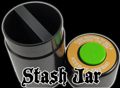 Dual Compartment Air Tight Stash Container