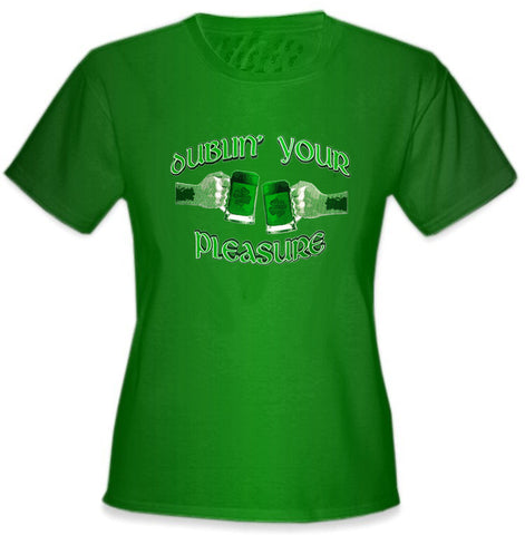 Dublin' Your Pleasure Girl's T-Shirt