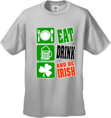 Eat Drink and Be Irish Men's T-Shirt