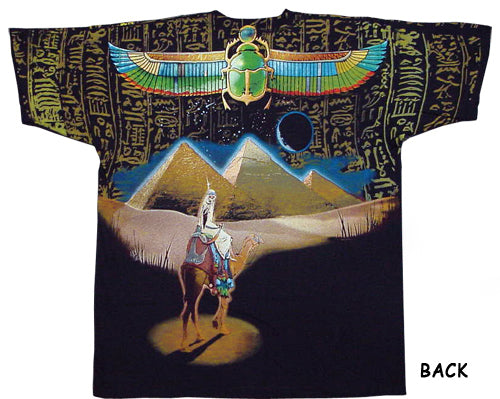 Egyptian Pharoah Skull T-Shirt