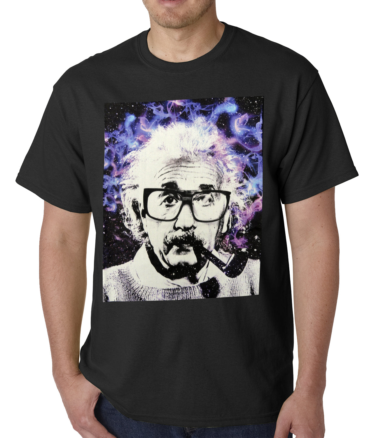 Einstein Pipe Mens T-shirt