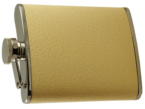 Elegant Ivory Hip Flask