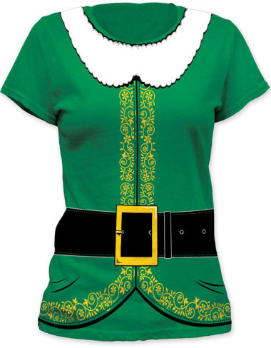 Elf Tuxedo Costume Girl's T-Shirt