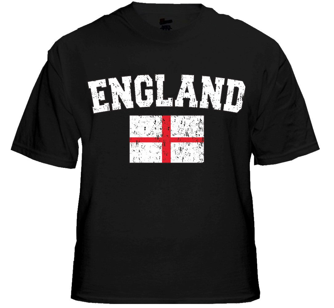 England Vintage Flag International Mens T-Shirt