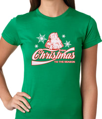Enjoy Christmas Tis The Season Ladies T-shirt