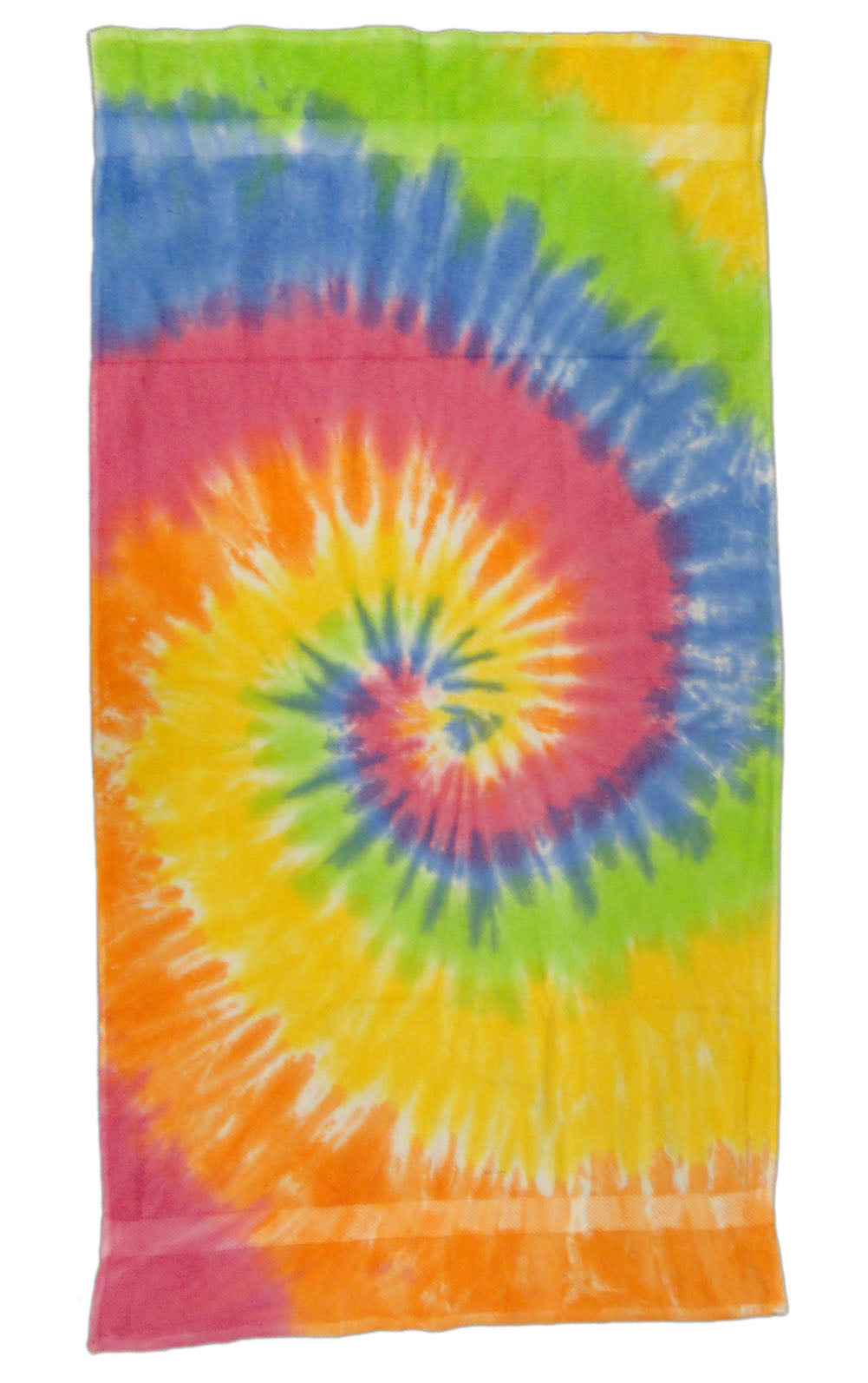 "Eternity Tie Dye Beach and Bath Towel (28""x58"")"