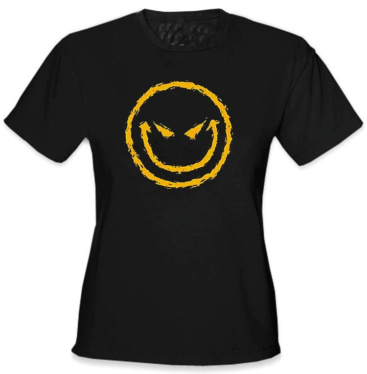 Evil Smiley Girls T-Shirt