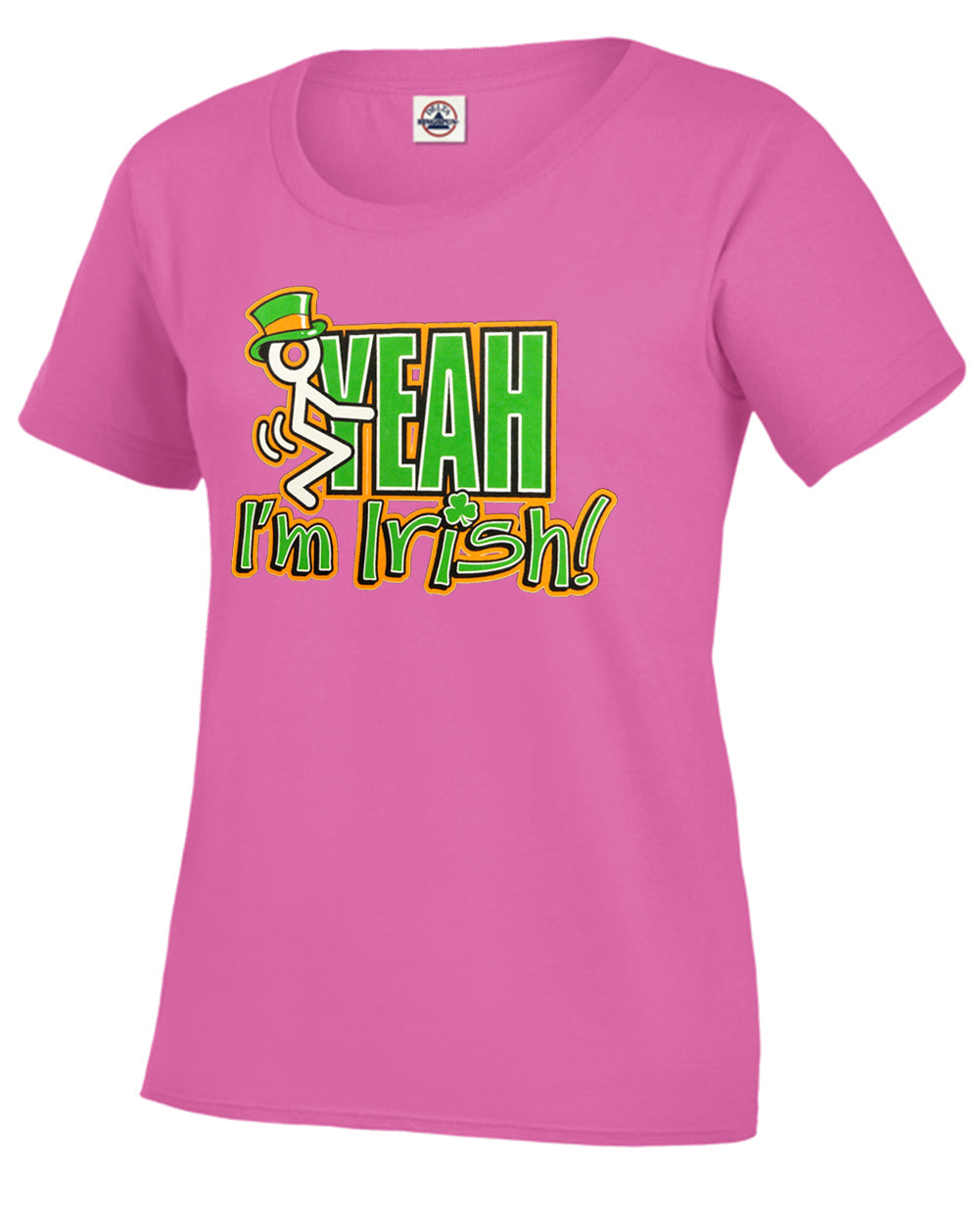 F*ck Yeah I'm Irish Girl's T-Shirt