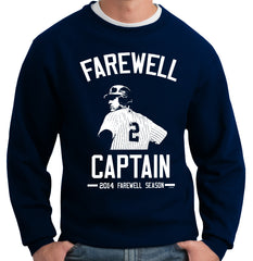 Farewell Captain Jeter Last Season Crewneck Sweatshirt
