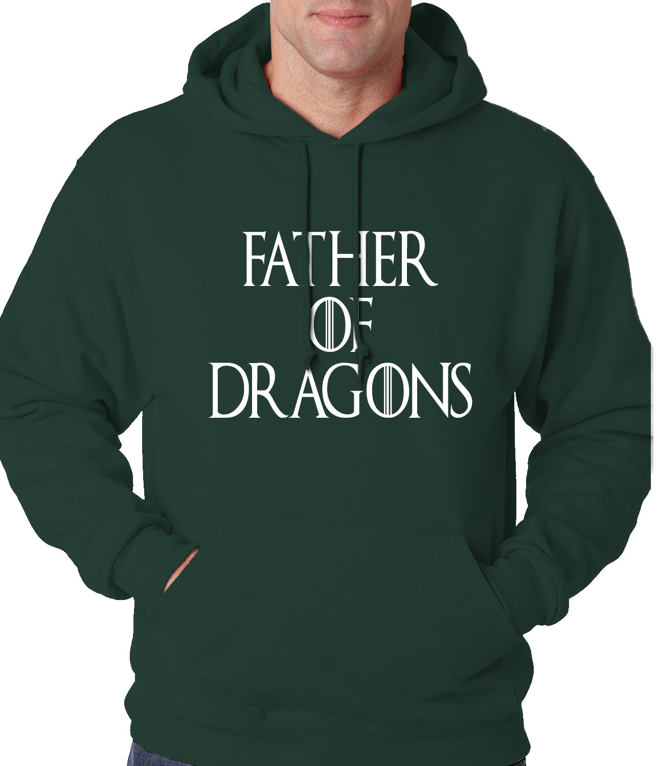Father Of Dragons Adult Hoodie