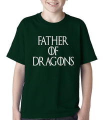 Father Of Dragons Kids T-shirt