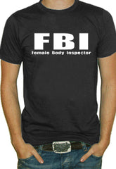 Female Body Inspector Mens T-Shirt