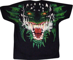 Fire / Forest Dragon Head T-Shirt