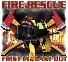 Fire Rescue Mens T-Shirt