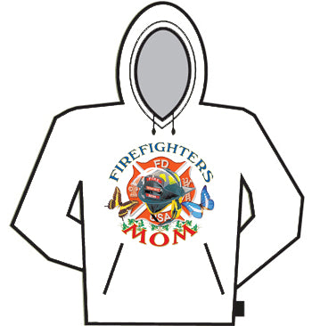 Firefighters Mom Hoodie