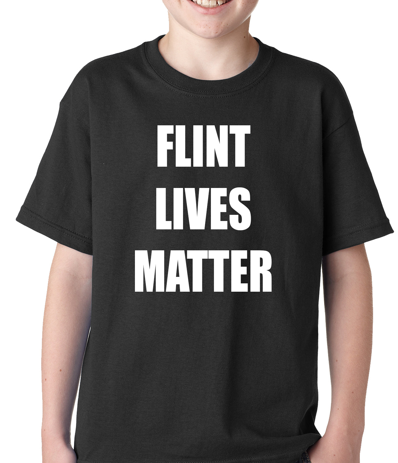 Flint Michigan Lives Matter Kids T-shirt