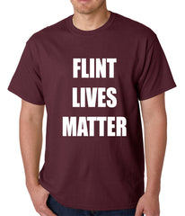 Flint Michigan Lives Matter Mens T-shirt
