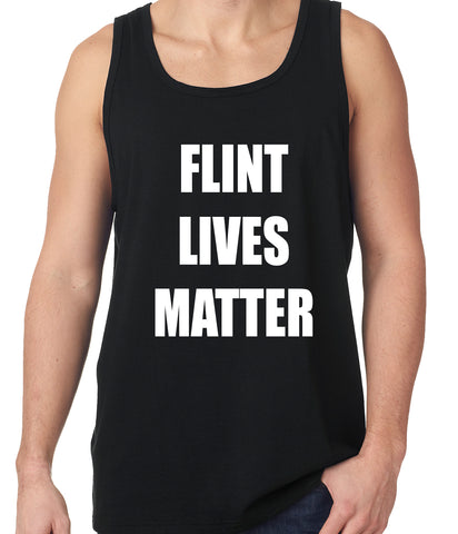 Flint Michigan Lives Matter Tank Top