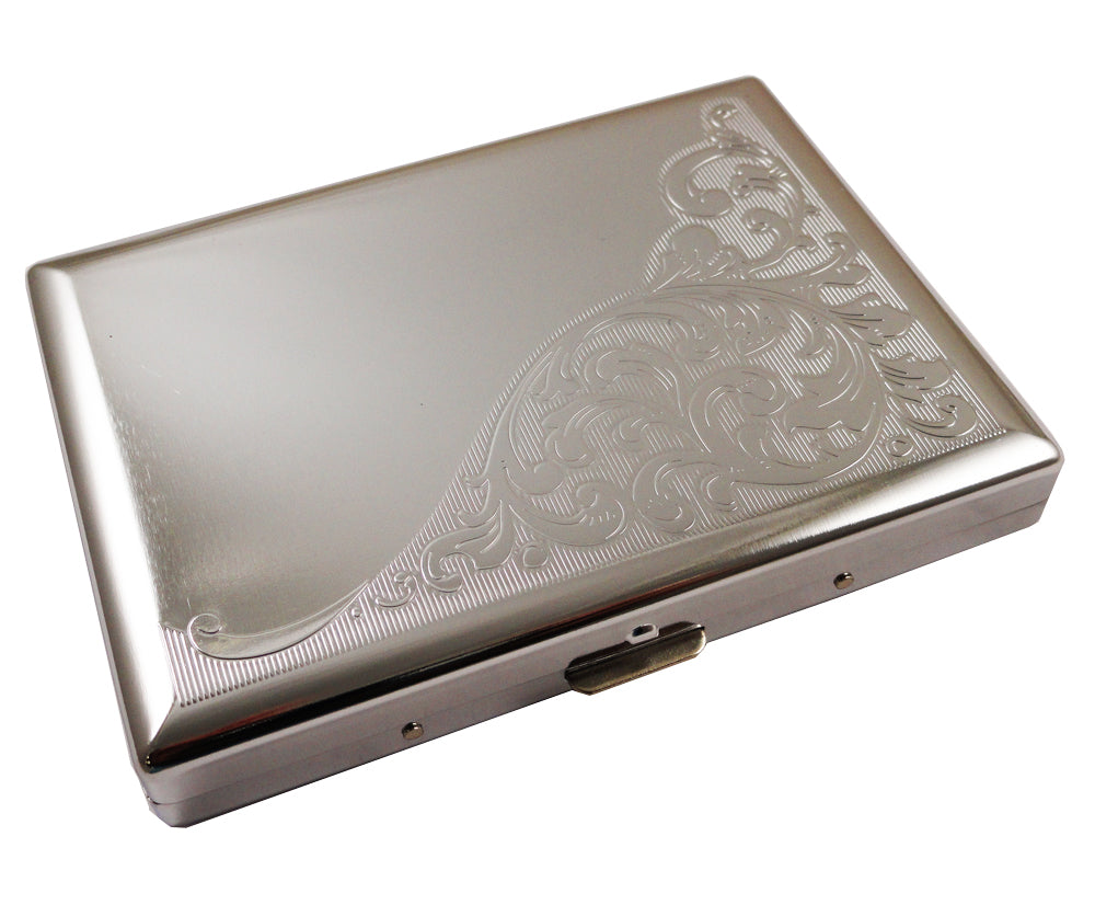 Floral Paisley Luxury Cigarette Case (For Regular Size & 100's)