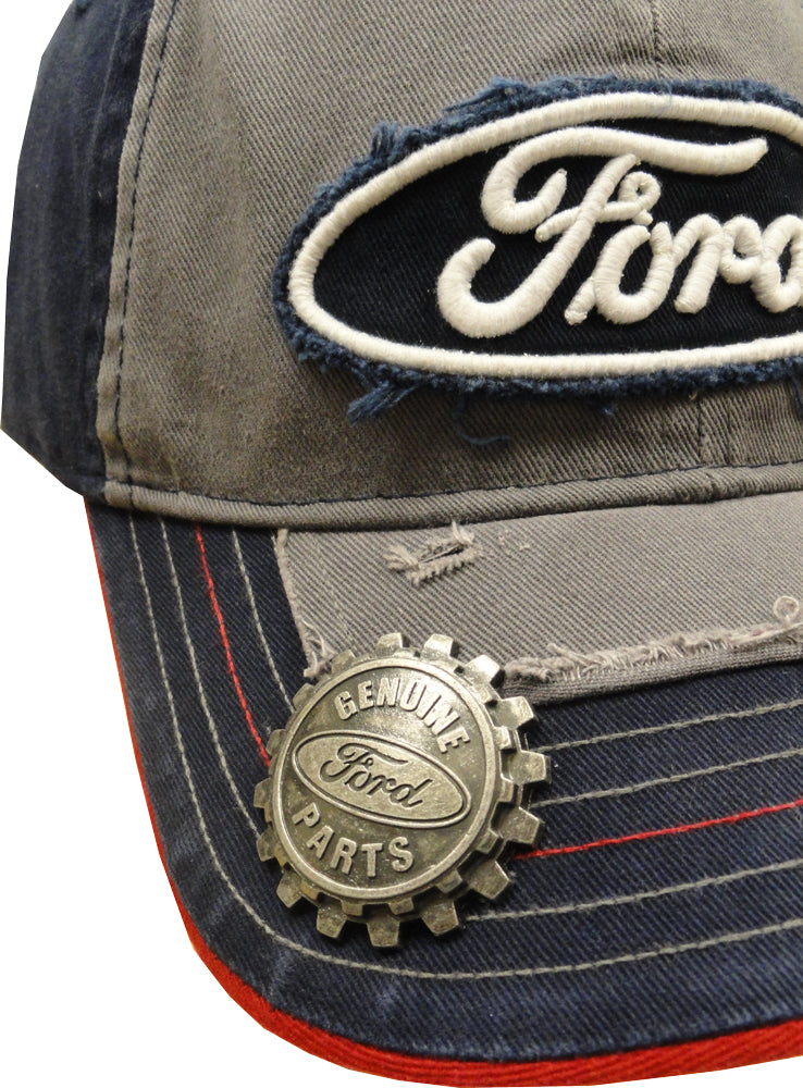 "Ford ""Genuine Parts"" Bottle Opener Hat"