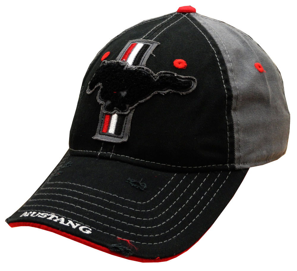 Ford mustang vintage snapback hat