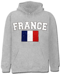 France Vintage Flag International Hoodie