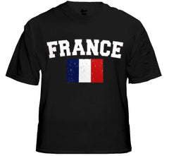 France Vintage Flag International Mens T-Shirt