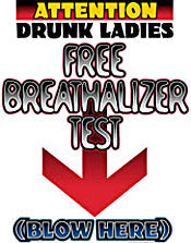 Free Breathalizer Test T-Shirt