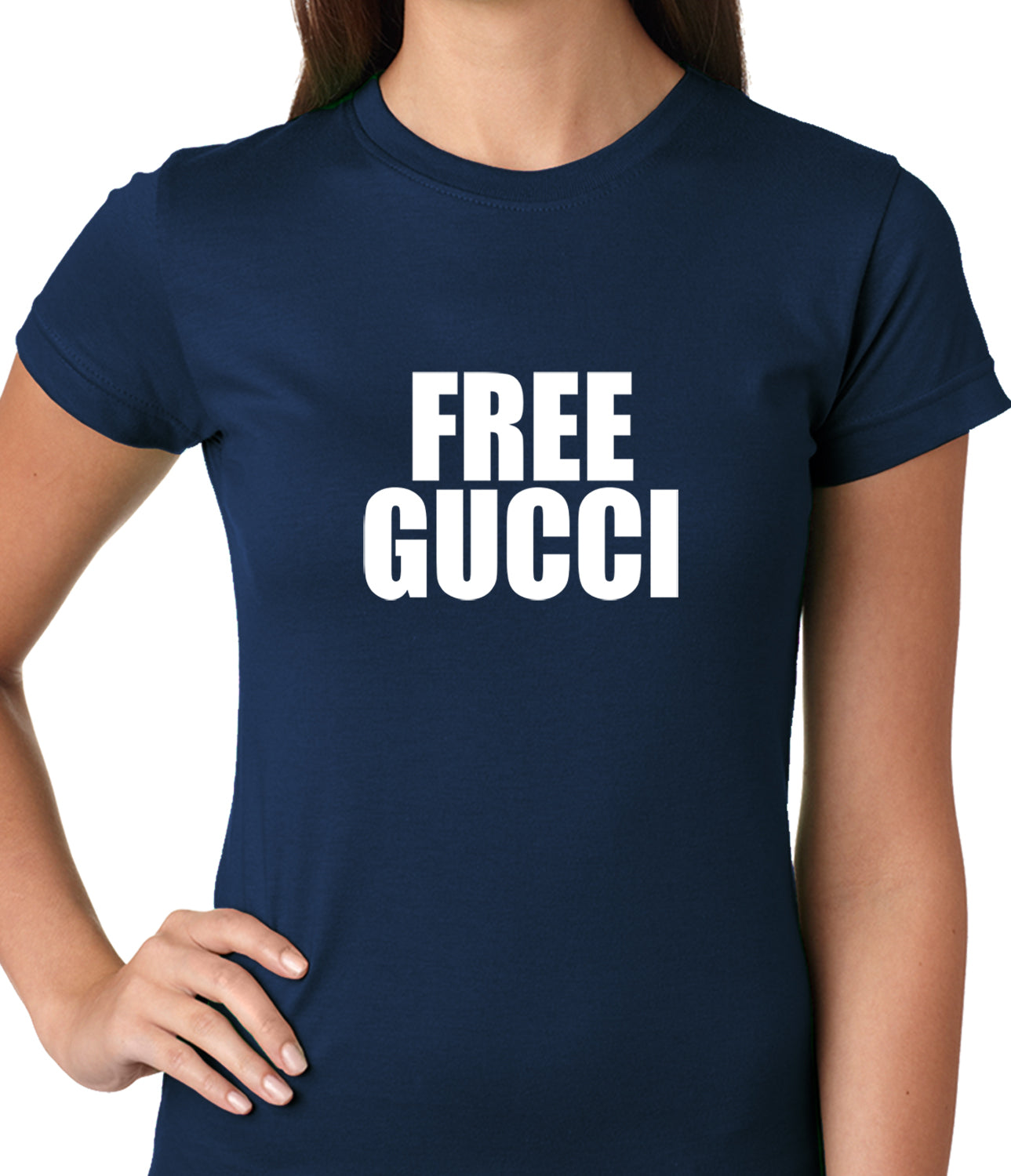 Free Gucci Guwop Ladies T-shirt