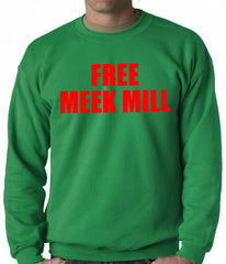 Free Meek Mill Hip Hop Adult Crewneck