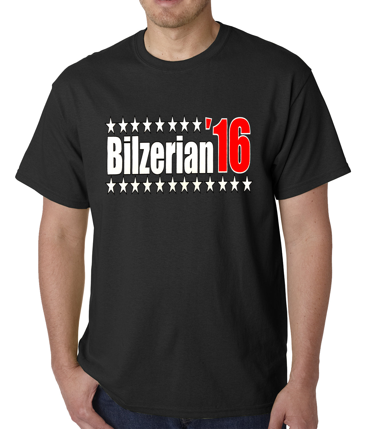 Full Color Bilzerian '16 - Vote For Bilzerian For President in 2016 Mens T-shirt
