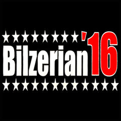 Full Color Bilzerian '16 - Vote For Bilzerian For President in 2016 Thermal Shirt