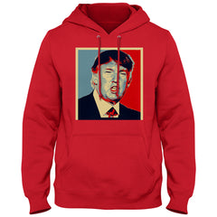 Full Color Trump Portrait Adult Hoodie