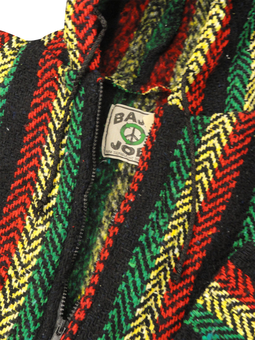 Full Zip Deluxe Baja (Rasta Color)