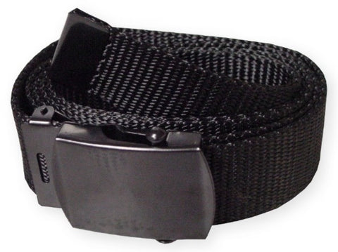 Fully Adjustable Scout Web Belt (Black)