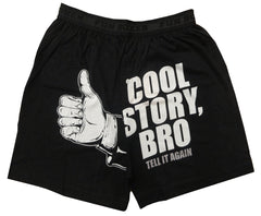 Fun Boxer - Cool Story Bro Boxer Shorts