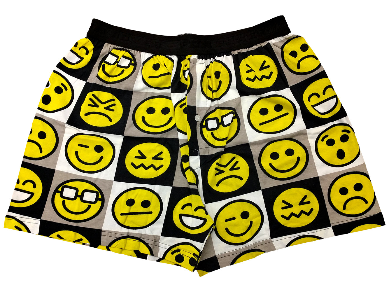 Fun Boxers - Smiley Emoji Boxer Shorts