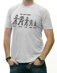 Funny & Hillarious Tees - The Ass Family T-Shirt