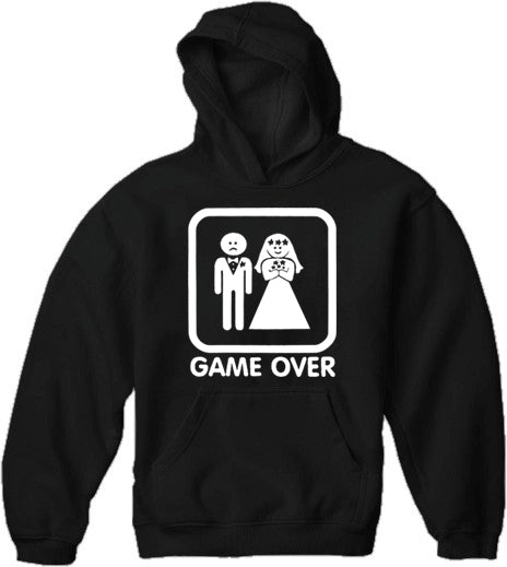 Funny Hoodies - Game Over Adult Hoodie