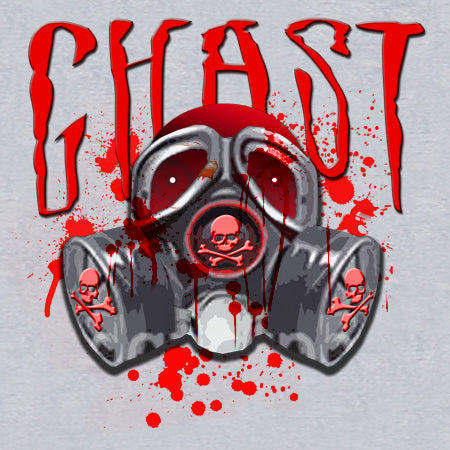 Ghast Blood Storm T-Shirt (Heather Grey)