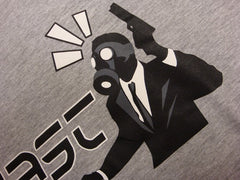 Ghast Bond Logo T-Shirt (Grey)