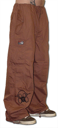 Ghast Cargo Drawstring Pants (Brown)