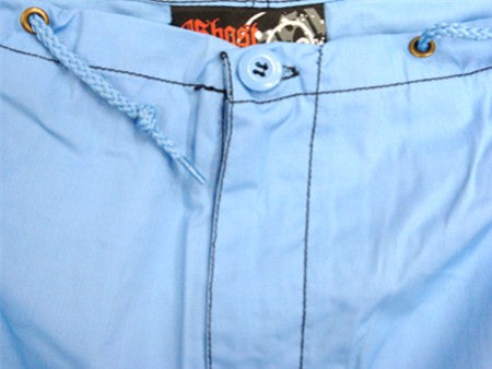 Ghast Cargo Drawstring Pants (Light Blue with Black)
