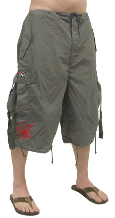 Ghast Cargo Shorts (Charcoal)