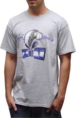 Ghast Electric Mask T-Shirt (Grey)