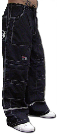Ghast Hi-Tech Contrast Pants (Black/Black)