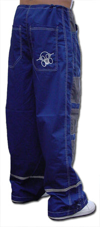 Ghast Hi-Tech Contrast Pants (Blue/Grey)