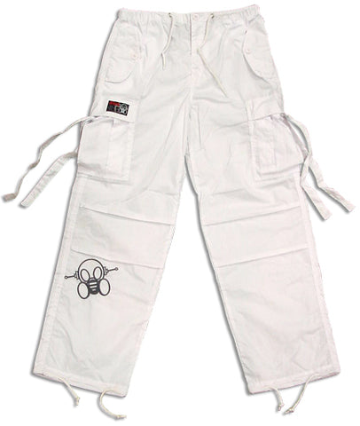 Ghast Kids Raver Dance Pants (White)