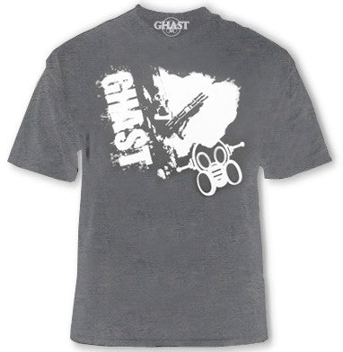 "Ghast ""Shotgun Warrior"" T-Shirt (Charcoal)"