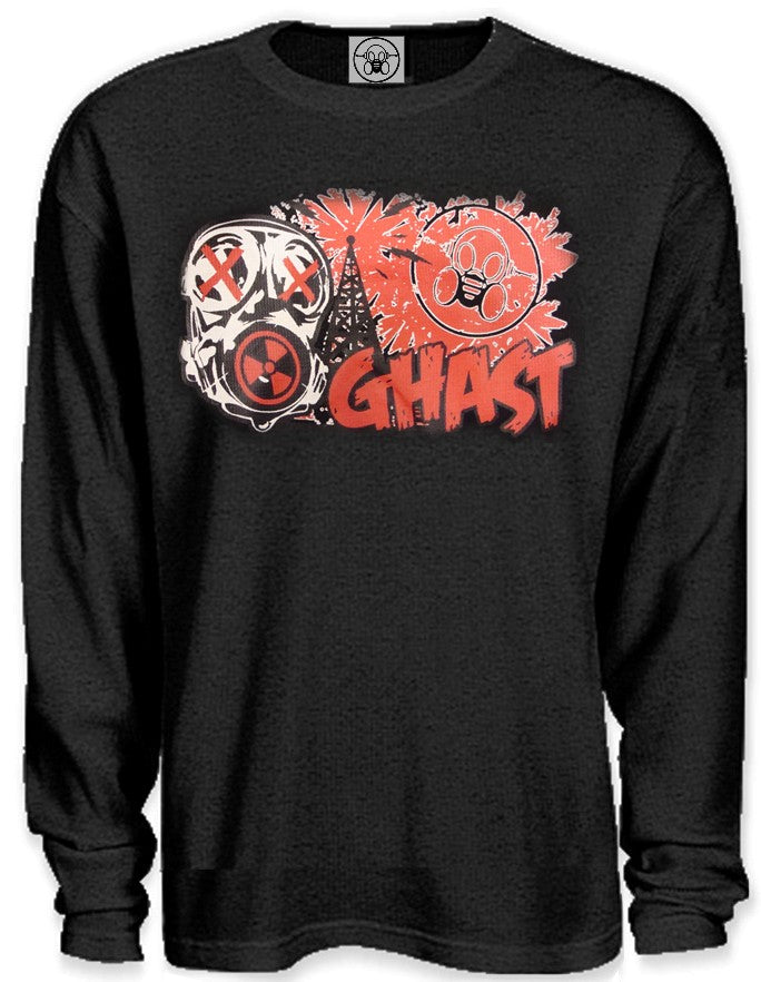 "Ghast ""Toxic Broadcast"" Thermal Longsleeve T-Shirt"